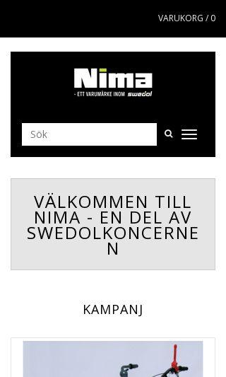 Mobile preview of nimaab.se
