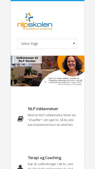Mobile preview of nlpskolen.dk