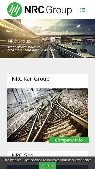 Mobile preview of nrcgroup.no