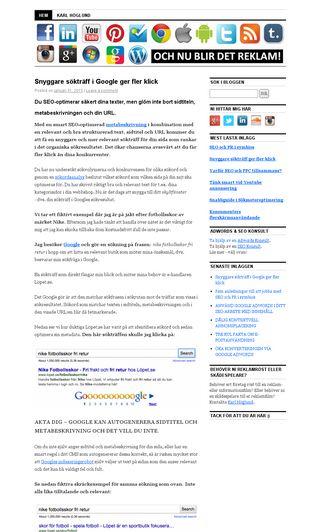 Mobile preview of ochreklam.se