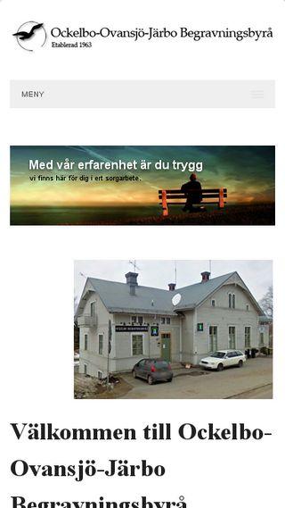 Mobile preview of ockelbobegravningsbyra.se