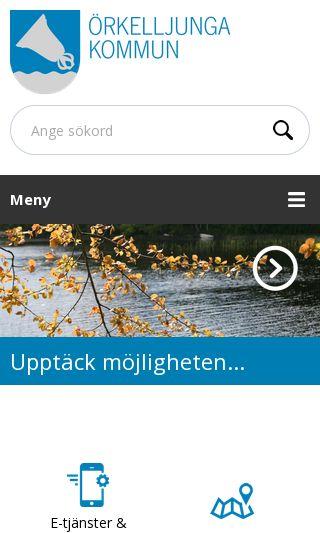 Mobile preview of orkelljunga.se
