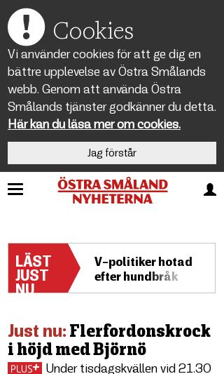 Mobile preview of ostrasmaland.se