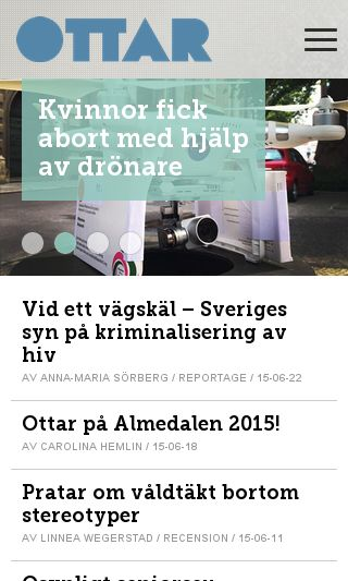 Mobile preview of ottar.se