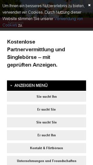 Mobile preview of partnervermittlung123.de