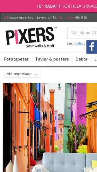 Mobile preview of pixers.se
