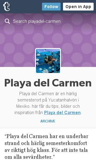 Mobile preview of playa-del-carmen.se