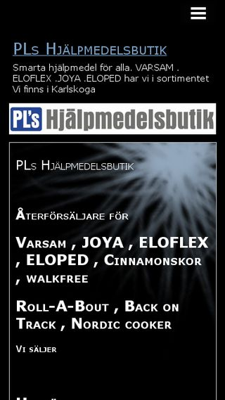 Mobile preview of plshjalpmedel.n.nu