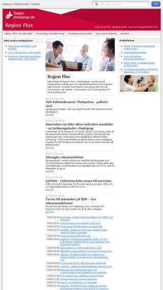 Mobile preview of plus.rjl.se