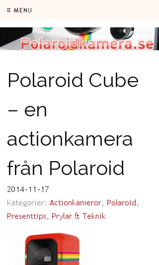 Mobile preview of polaroidkamera.se