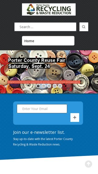 Mobile preview of portercountyrecycling.org