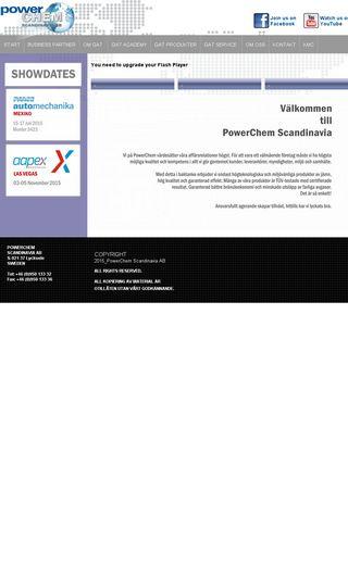 Mobile preview of powerchem.se
