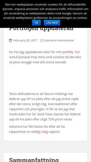 Mobile preview of projektrikpensionar.nu