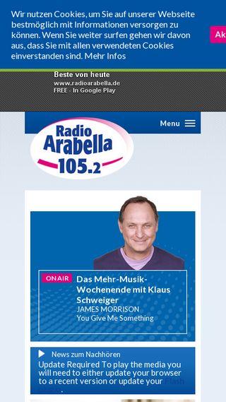 Mobile preview of radioarabella.de