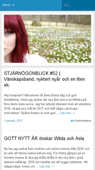 Mobile preview of reaktionista.se