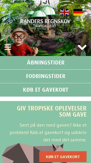 Mobile preview of regnskoven.dk
