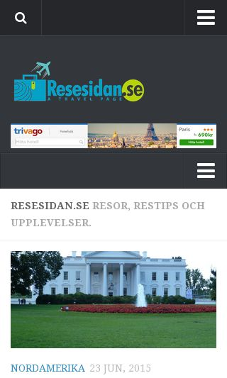 Mobile preview of resesidan.se