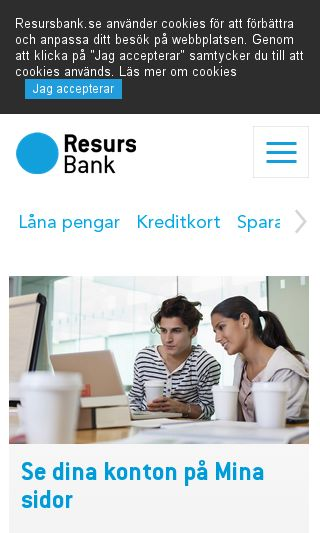 Mobile preview of resurs.se