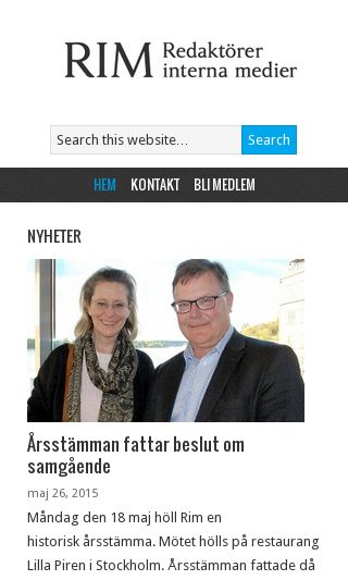 Mobile preview of rim.se