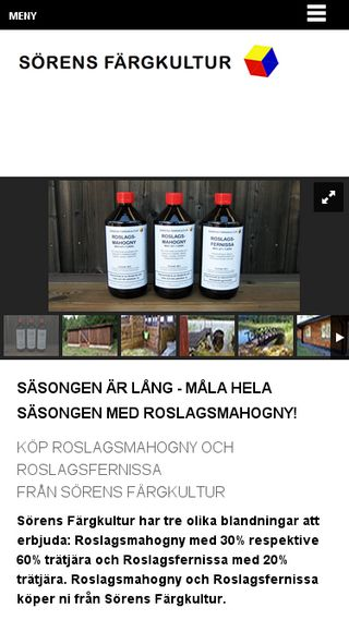 Mobile preview of roslagsmahogny.se