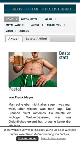 Mobile preview of rottmeyer.de