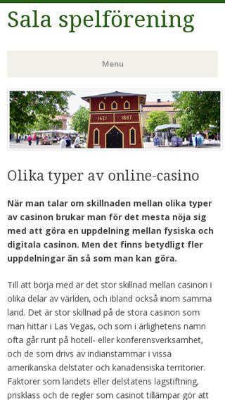 Mobile preview of salasf.se
