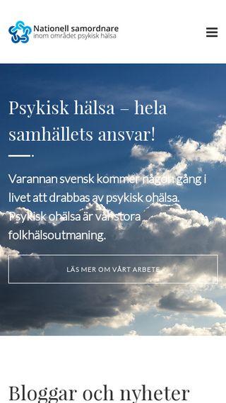 Mobile preview of samordnarepsykiskhalsa.se