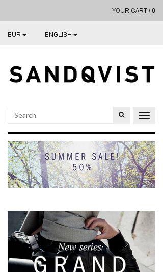 Mobile preview of sandqvist.net