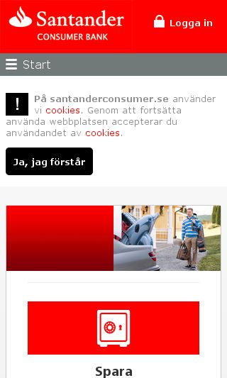 Mobile preview of santanderconsumer.se