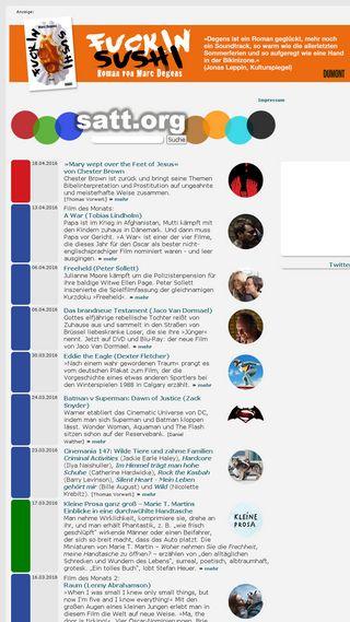 Mobile preview of satt.org