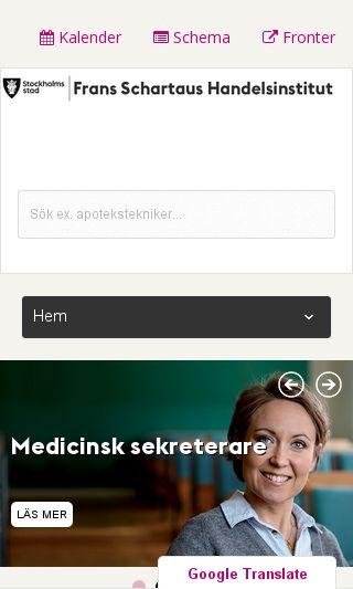 Mobile preview of schartau.se