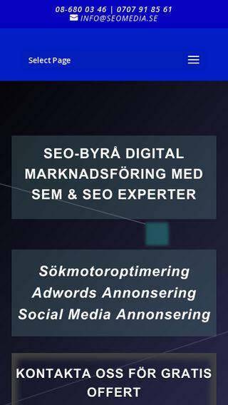 Mobile preview of seomedia.se