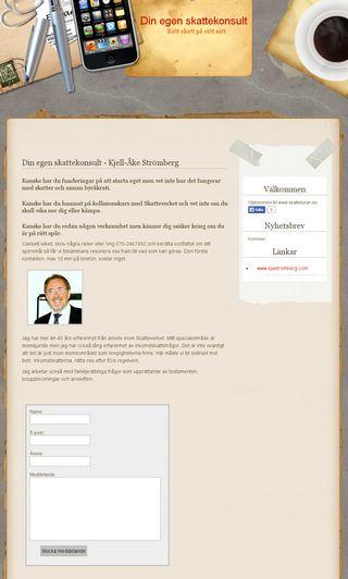 Mobile preview of skattebyran.se