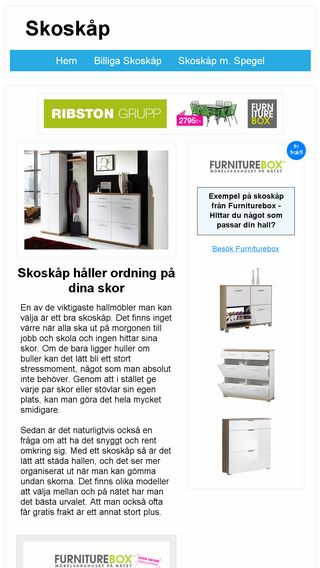 Mobile preview of skoskap.se