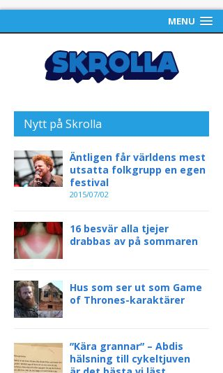 Mobile preview of skrolla.se