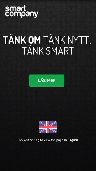 Mobile preview of smartcompany.se