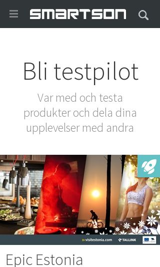 Mobile preview of smartson.se