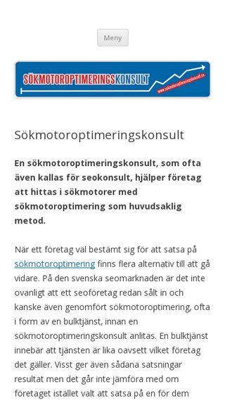 Mobile preview of sokmotoroptimeringskonsult.se