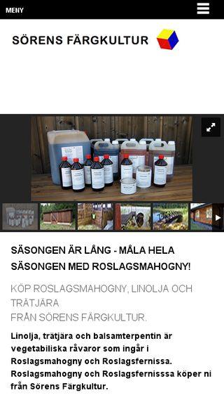 Mobile preview of sorensfargkultur.se