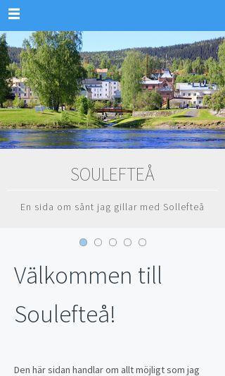 Mobile preview of souleftea.se
