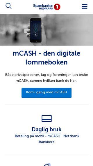 Mobile preview of sparebanken-hedmark.no