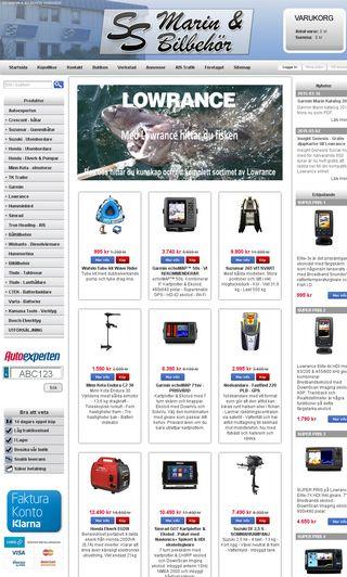 Mobile preview of ssbilbehor.se