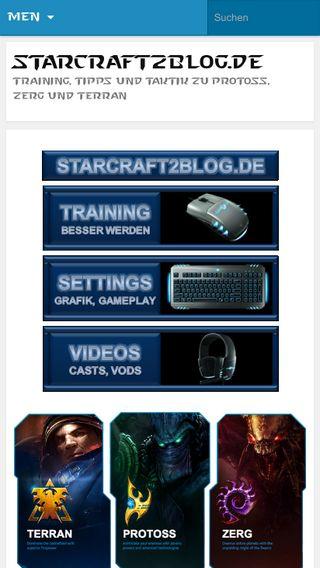 Mobile preview of starcraft2blog.de