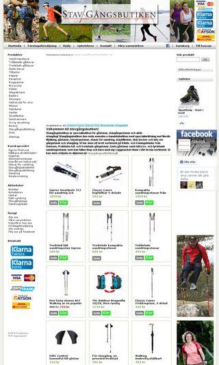 Mobile preview of stavgangsbutiken.se