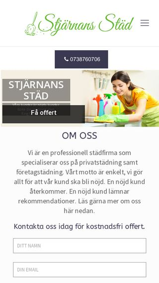 Mobile preview of stjarnansstad.se