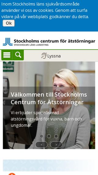 Mobile preview of stockholmatstorningar.se