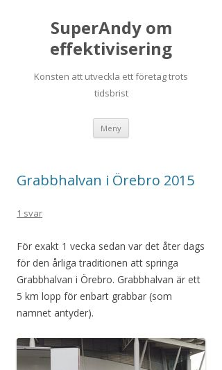 Mobile preview of superandy.se