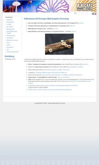 Mobile preview of svampar.se