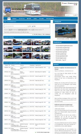 Mobile preview of svenskbusshistoria.se