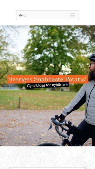 Mobile preview of sverigessnabbastepotatis.se